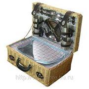 Набор для пикника на 4 персоны 46*30*20см (уп.1/4наб.) фото