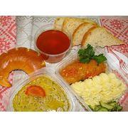 Комплексные обеды с доставкой по Астане фото