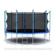 Батут Hegen Internal 12ft (366 см) SS13 синий