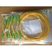 Оптический шнур SC/APC-FC/APC 5м фото