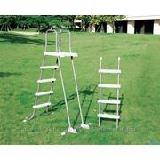 Лестница для бассейнов высотой 122-132см со съемными ступеньками Intex 58971 фото