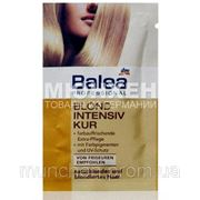 Профессиональная интенсивная маска для натуральных и окрашенных светлых волос Balea Professional Blond Intensiv Kur 20 мл фото