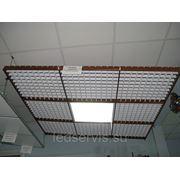 Сборка светодиодного светильника Грильято-5500