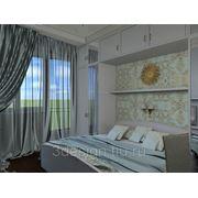 3D моделирование спальни фото