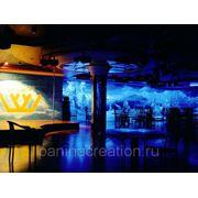 Флуоресцентная роспись фото