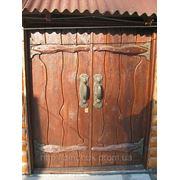 Двери-ворота.Под старину.Широкие. фото