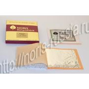Сусальное серебро NORIS 95х95 мм, 25 листов 999.99 проба фото