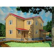 Дизайн загородного деревянного дома фото
