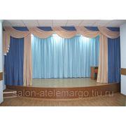 пошив штор,тюля,ламбрекены для банкетных залов. фото