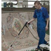 Профессиональная чистка и сушка ковров. фото
