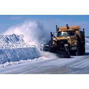 Уборка снега а СПб фото