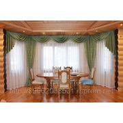 Пошив штор, дизайн окна. фото