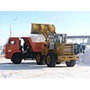 Вывоз и утилизация снега фото