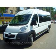 Прокат микроавтобусов Пежо Боксер, Форд Транзит, легковые авто V.I.P фото