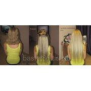 Наращивание (микрокапсулы), коррекция, снятие волос фотография