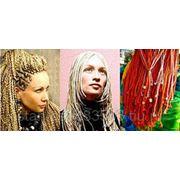 Плетение афрокосичек фото