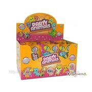 Пати Энималс ( Party Animals ) PARTY ANIMALS Набор Пати Энималс 1 медв+1 кост в конв из фольги (арт.60719), 24 шт в торг. диспл [60792] фото