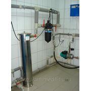Разработка технического решения объекта по подбору технологии и оборудования для очистки воды фото