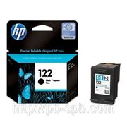 Заправка картриджа HP 122 ч/б фото