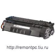 Заправка лазерного черного картриджа HP Q5949A (без замены чипа) фото