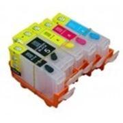 Перезаправляемый картридж PGI-520/425, CLI-521/426 для принтеров Canon без чипов фото