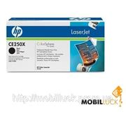 Картридж HP CE250X black max фото