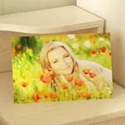 Печать фотографий на стекле фото