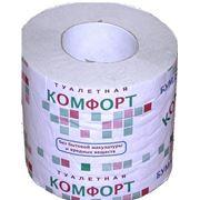 Туалетная бумага однослойная Сыктывкарская Комфорт фото