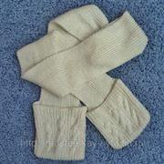 Вязаные шарфы фото
