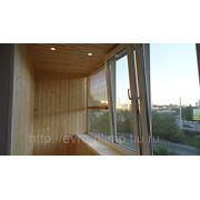 Установка освещения на балконе фото