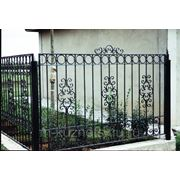 Забор кованый К16-21 фото