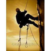 Промышленный альпинизм фото