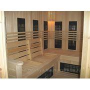 Строительство инфракрасных саун под ключ в квартирах,салонах,спорткомплексах,гостиницах ипр. В Петербурге и Лен.области фото