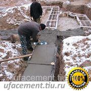 Заливка бетоном (фундамент, перекрытия), в Уфе фото