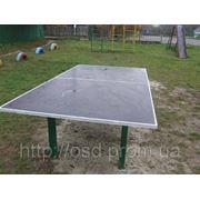 Теннисный стол, спортивная площадка фото
