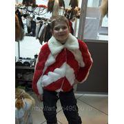 Детская меховая куртка фото