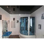 Натяжные потолки в ванной фото