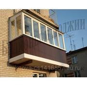 Пластиковые лоджии и балконы. фото