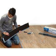 Укладка виниловой плитки (ПВХ) фото