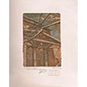 Гравюра Египетский павильон фото