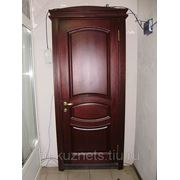 Дверь из сосны D09-12 фото