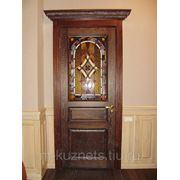 Дверь из дуба D09-15 фото
