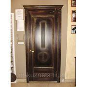 Дверь из сосны D09-13 фото