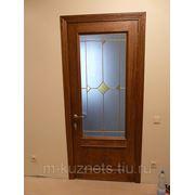 Дверь из дуба D09-06 фото