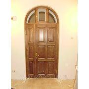 Дверь из сосны D09-25 фото