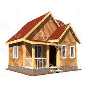 Каркасный дачный дом - 6х5,5 м. фото