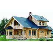 Дома из бруса лиственница фото