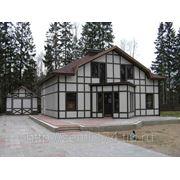 Строительство КАРКАСНЫХ домов от 12000 руб. за кв.м (сроком 1 - 2 месяца) фото