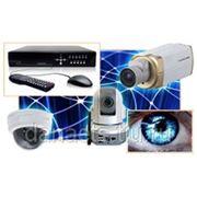 Системы видеонаблюдения и домофонные системы фото