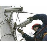 Установка видеонаблюдения в Тольятти фото